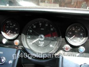 gt40 Dashboard Warning Light Set 1