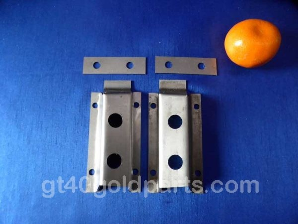 gt40 Door latch mounting co